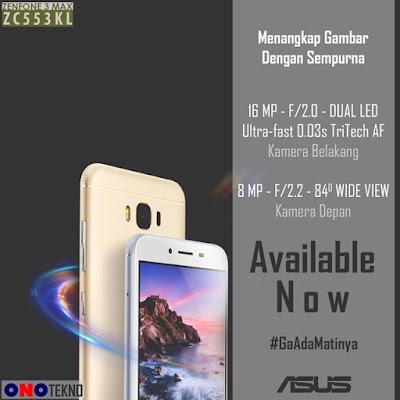 15 Alasan Asus ZenFone 3 Max ZC553KL Ini Layak Untuk Dimiliki