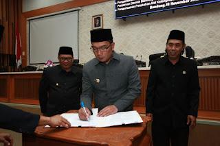 Ridwan Kamil Oded M Danial Isa Subagja