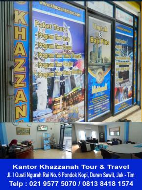 Kantor Khazzanah Tour Travel