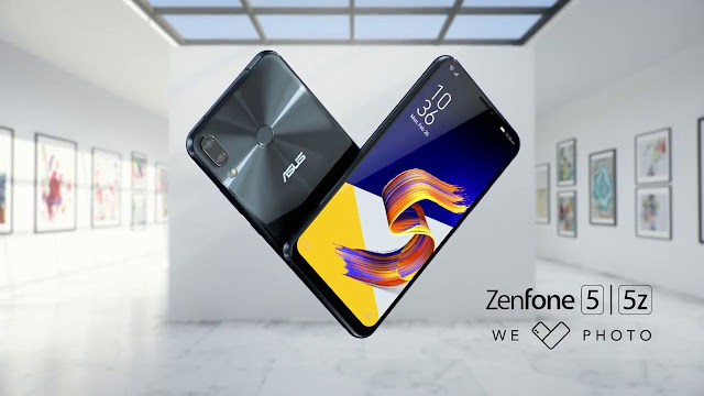 ASUS Resmi Rilis Zenfone 5 dan 5z di Indonesia