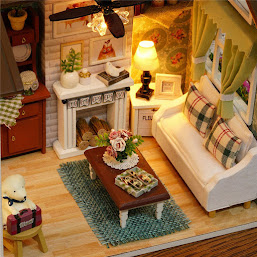 Happy Times Wood Dollhouse