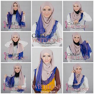 Tips Cara Memakai hijab Selendang Kreasi Terbaru