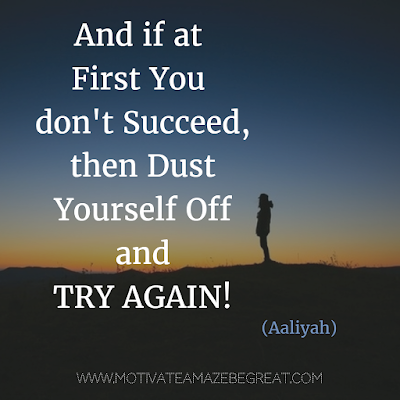 "Featured in our Most Inspirational Song Lines and Lyrics Ever: Aaliyah ""Try Again"" beautiful song lyrics."