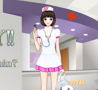 العاب ممرضة المستشفى