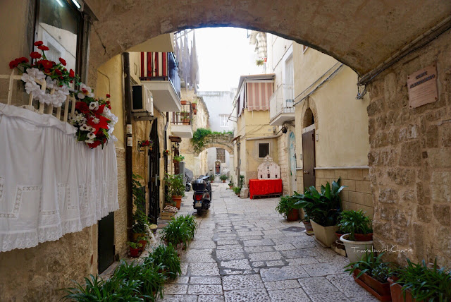 Bari historic center