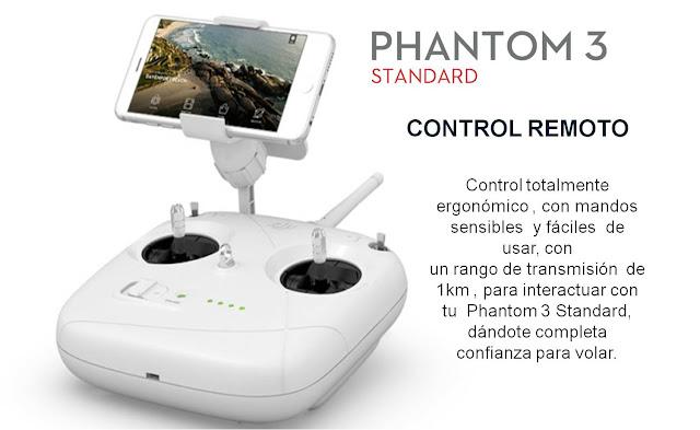 Resultado de imagen para mando phantom 3 standard