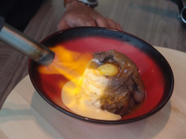Flaming Wagyu Beef Bowl