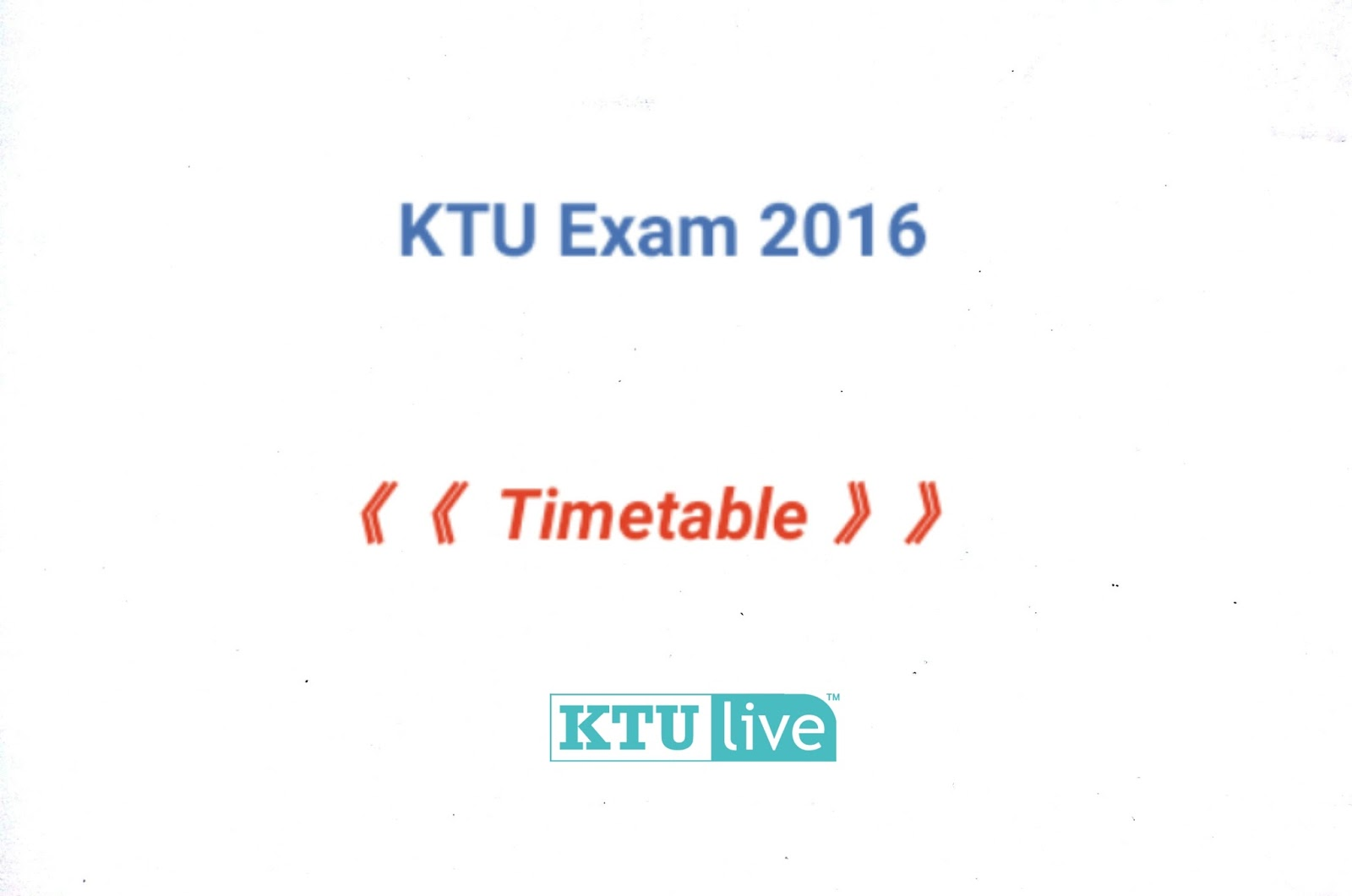 Code ( Now Available For All Ktu Students ) :: Click Here First & Third