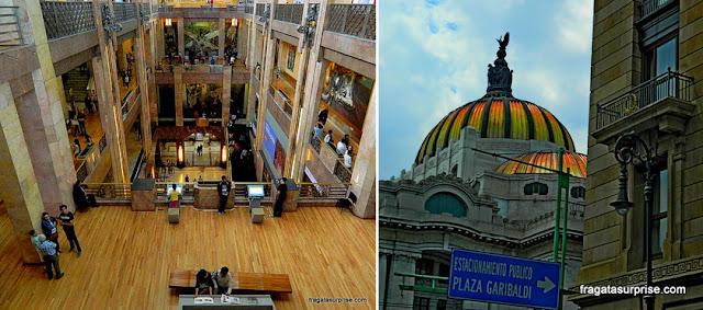 Cidade do México - Palácio Nacional de Belas Artes