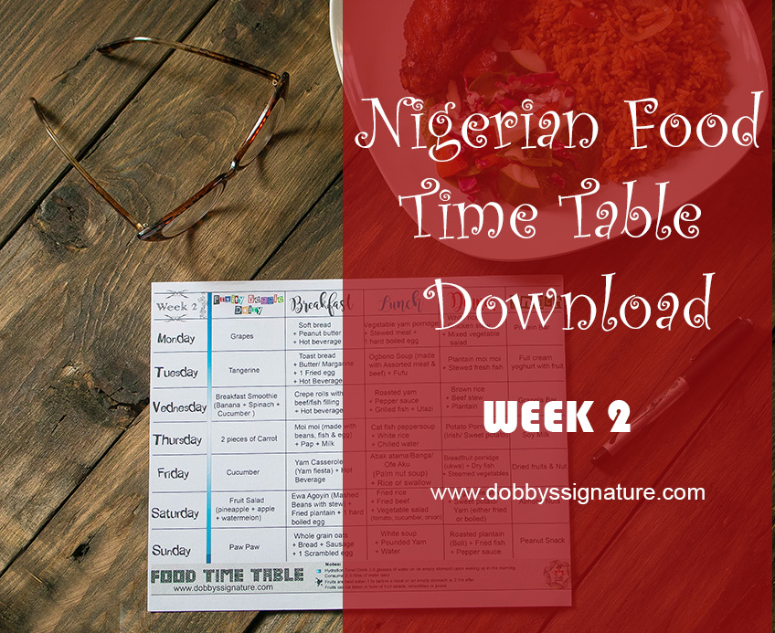 Dobbys signature nigerian food blog i nigerian food recipes i cant believe the second week of the ds nigerian food time table took this long to be publishedgh would like to apologize for the forumfinder Gallery