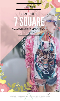free bohemian crochet cardigan pattern granny squares festival