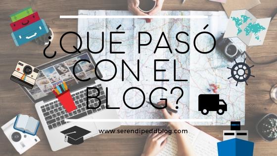 ¿Adios Serendipia? | ¿Qué pasó con el blog?