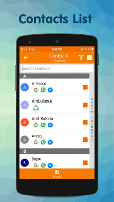 Contacts Backup & Restore for Android