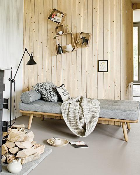 Daybed - die Versuchung einer Couch: Selbermachen mit Sprungfederrahmen und Matratze ist angesagt