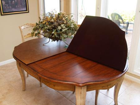 protective pads for dining room table | Installing Custom Dining Room Table Pads - AyanaHouse