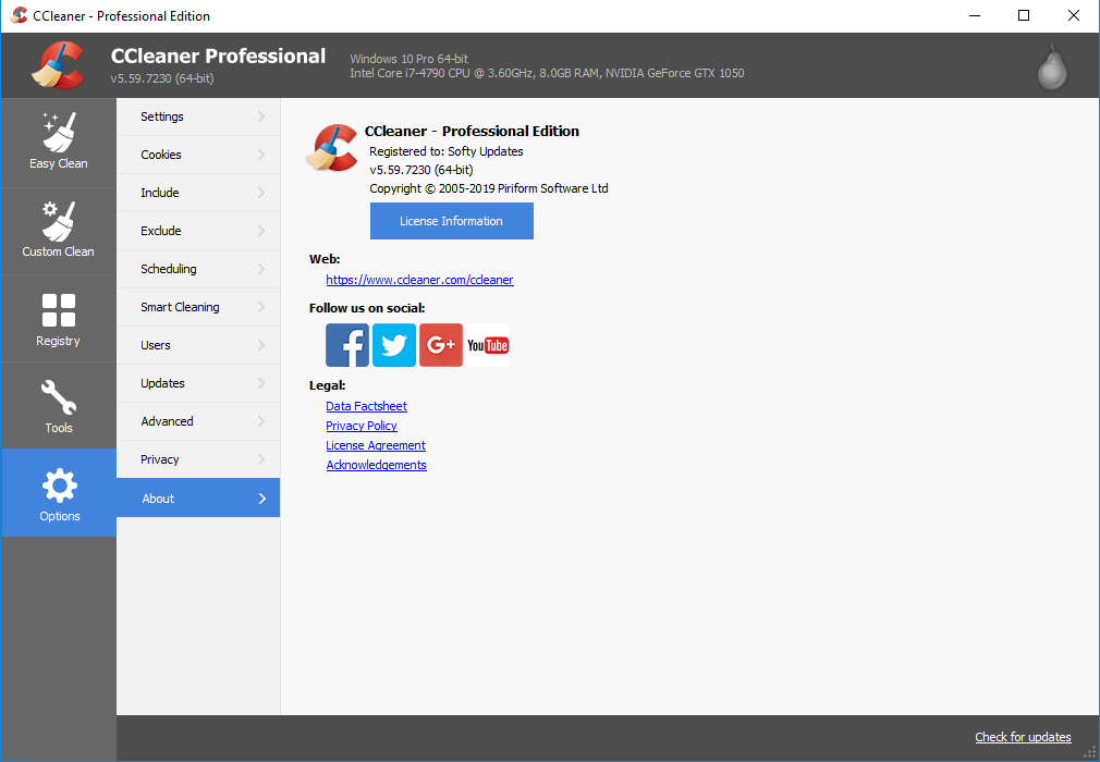CCleaner 5.59.7230