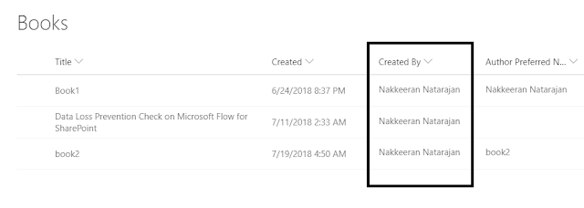 SharePoint Modern List View