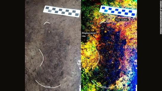 Des empreintes de pieds humains vieille de 13,000 ans découvertes sur la côte ouest du Canada