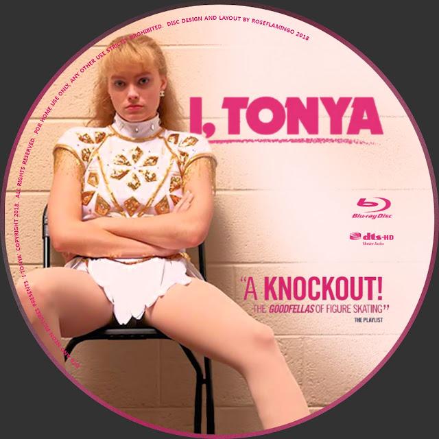 I, Tonya Bluray Label
