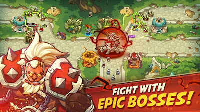 Download Game Empire Warriors TD: Defense Battle Apk + Mod DI gilaandroid.com