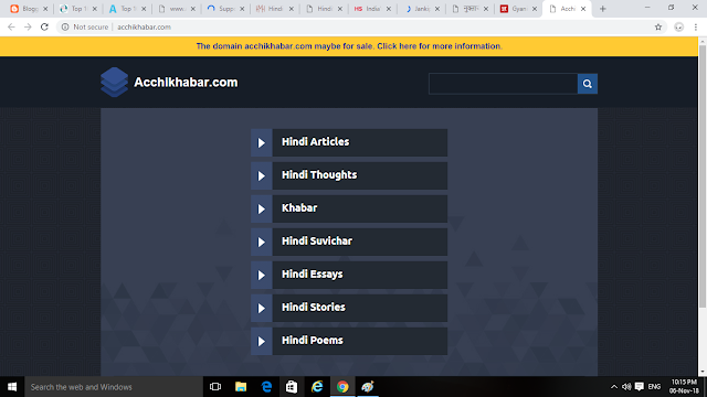 Top 10 Best Indian Hindi Blogging Websites/Blog InHindi