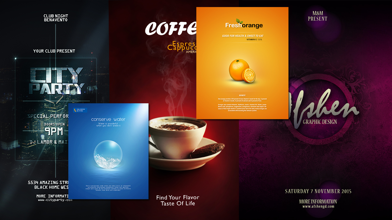 5 Best Photoshop Tutorials To Make Poster Designs