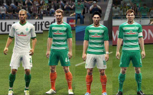 PES 2013 Werder Bremen Kit Season 2016-2017