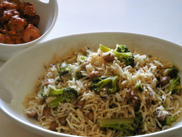 how to cook broccoli indian style