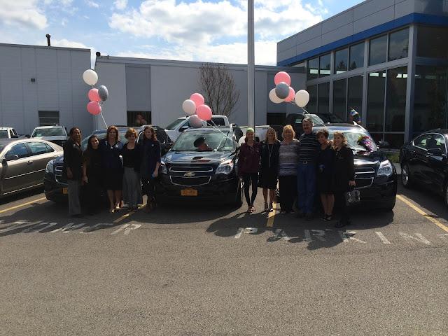 Mary Kay Team Picks Up New Chevy Equinoxs at Hoselton!