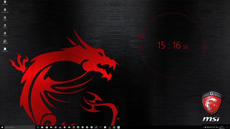 4K MSI Dragon Wallpaper Engine