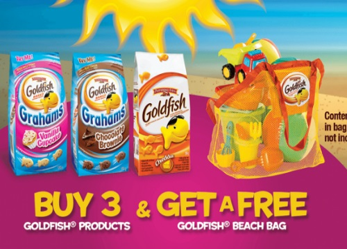 Goldfish Summer Free Beach Bag