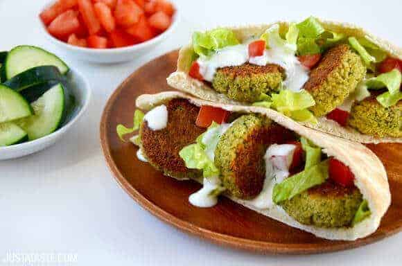 Crispy Homemade Baked Falafel Recipe