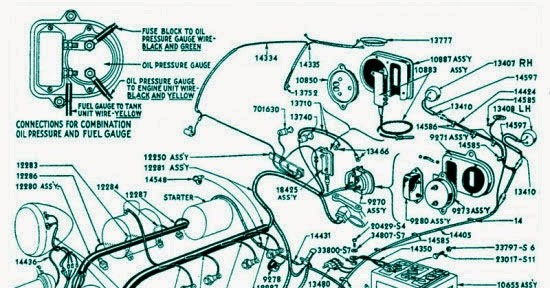 Ford 1936 Electrical System Wiring Diagram | Electrical