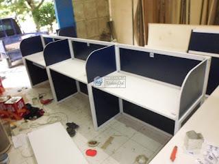 Meja Partisi Kantor - Meja Kantor Semarang - Pesan Furniture Cepat