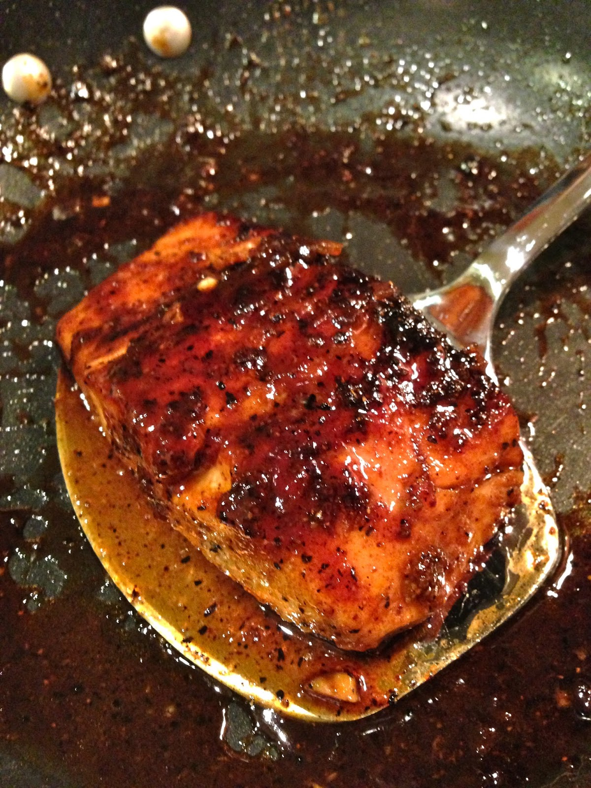 Escapades In Eating Orange Glazed Cajun Salmon