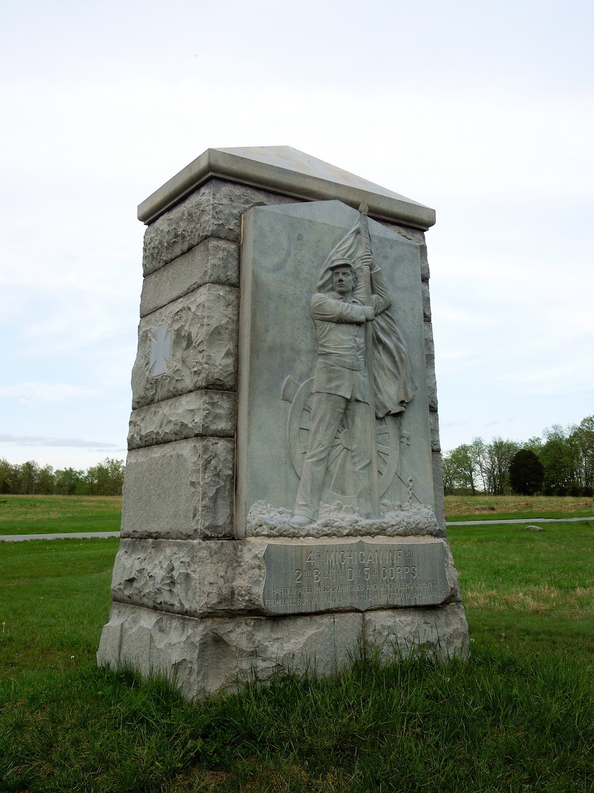 michigan 4th infantry monument