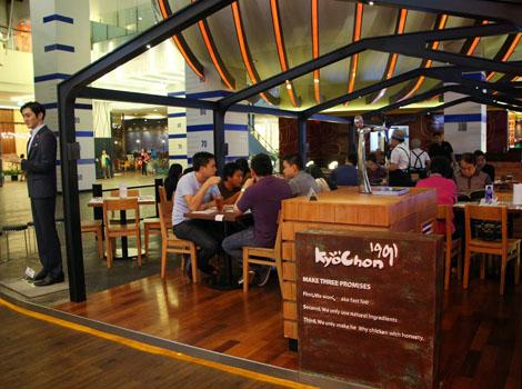 Kyochon, restoran, tempat makan, tempat makan di jakarta