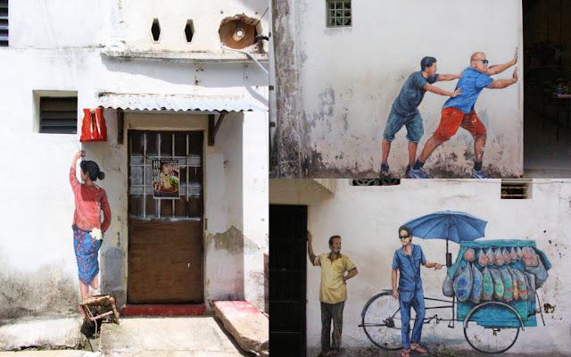 berburu mural di penang