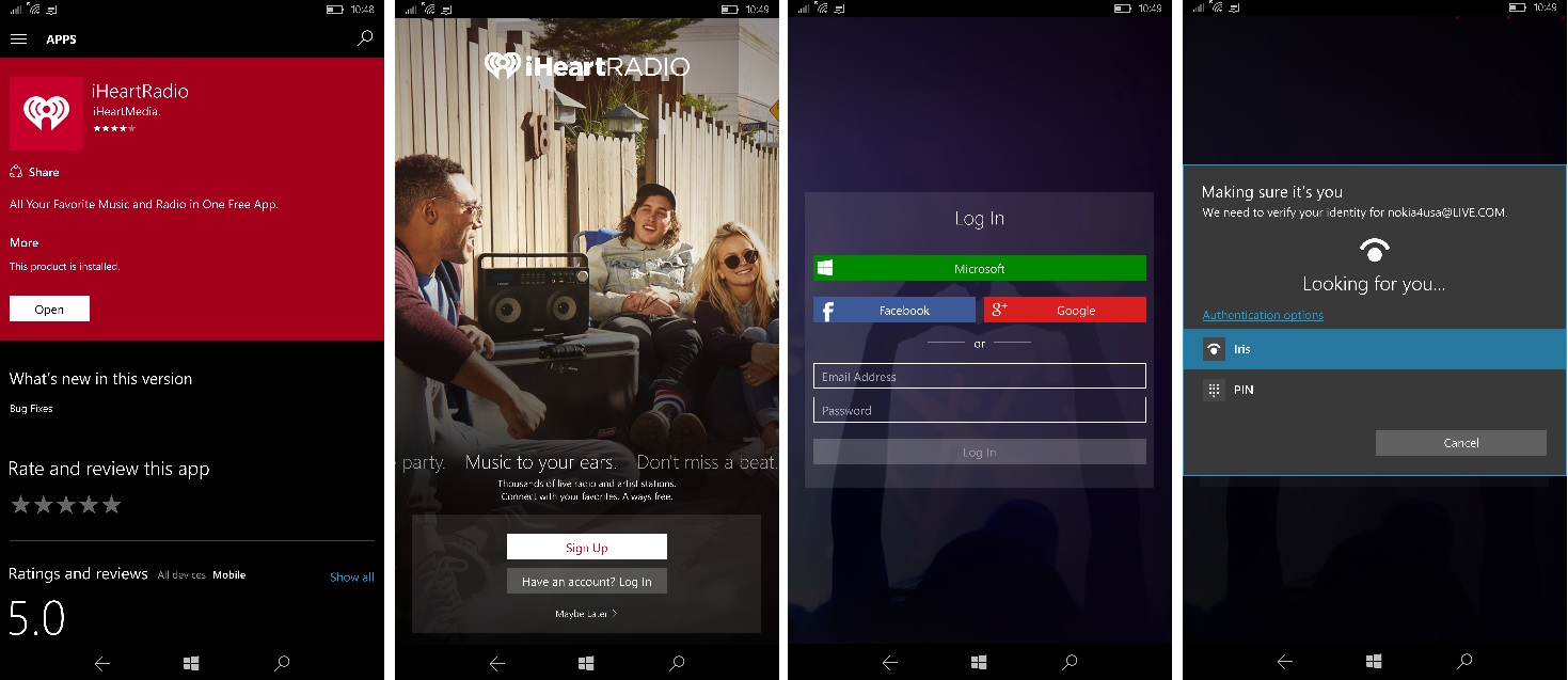 New & redesigned iHeartRadio app now available on Windows 10