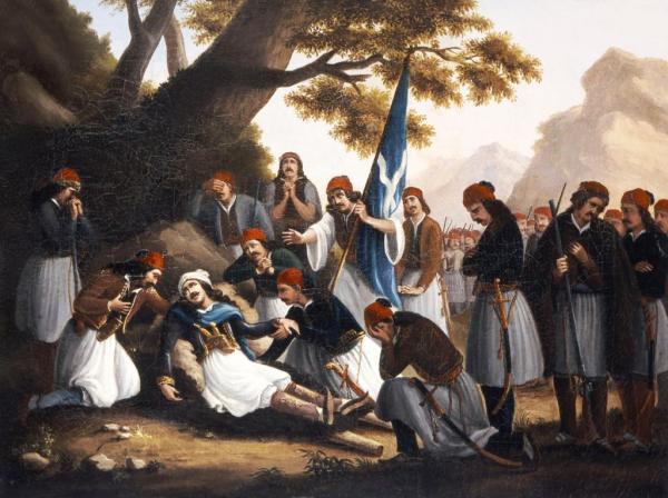 Οι θυσίες του ελληνικού γένους στην Πινακοθήκη Ναυπλίου