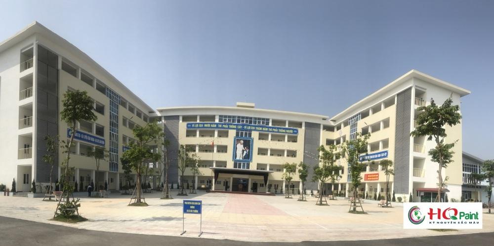 Trường THCS Thanh Am.