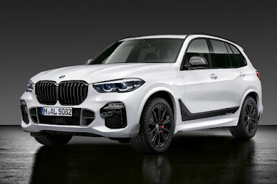 BMW X5 with M Performance Parts (2019) Front Side