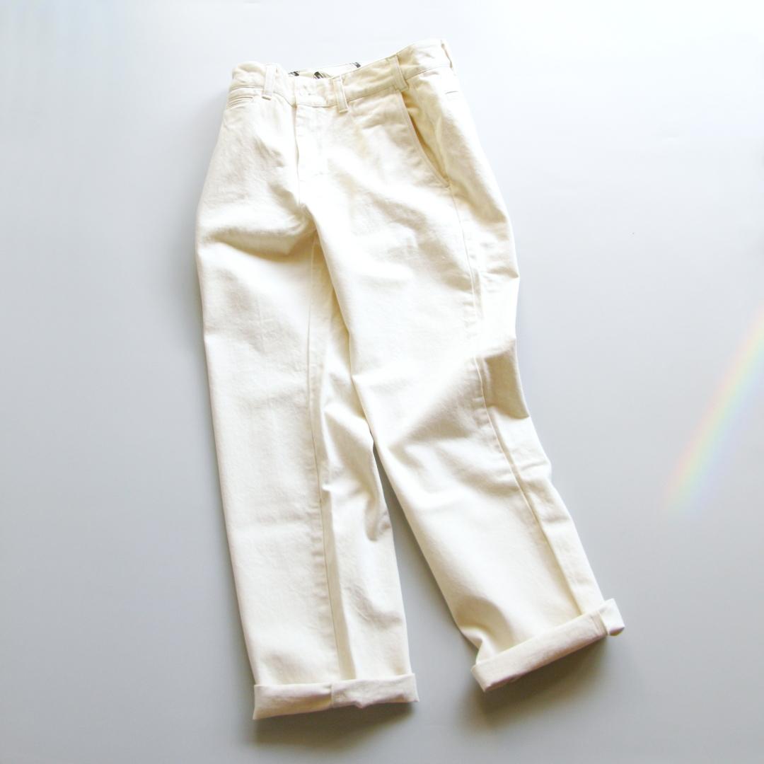 """Bottom """"Chino denim pants"""" Price:18,792yen"""