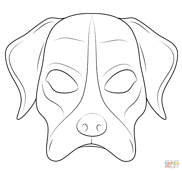 Dog Mask Dog Mask Coloring Page Free Printable Coloring Pages Throughout  Elegant Pumpkin Coloring Pages To