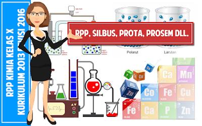 Download RPP KIMIA Kelas X SMA Kurikulum 2013 Revisi 2016