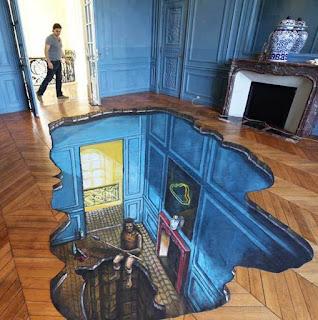 Desain Lukisan Lantai Rumah Minimalis Tercantik Tahun Ini