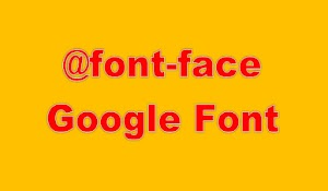 Font Face Google Font Untuk Font Oswald Supaya Loading Blog Lebih Cepat