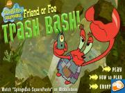 Friend or Foe Trashbash Spongebob Game