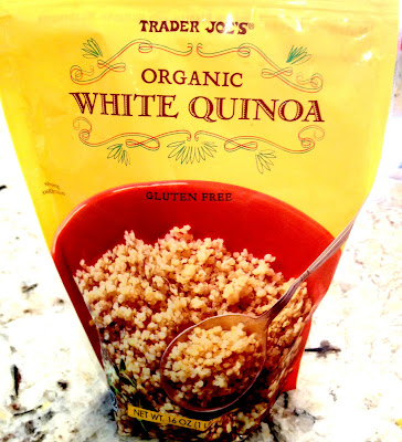 bag of quinoa from Trader Joe's