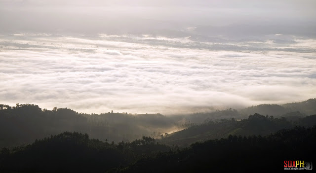 Sea of Clouds at Kalonbarak Skyline Ridge in Malungon